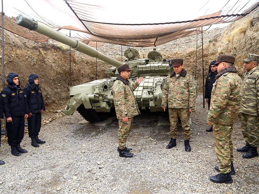 Министр обороны принял участие в открытии танковой воинской части в прифронтовой зоне – ФОТО - ВИДЕО