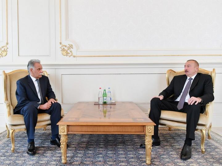 Президент Ильхам Алиев принял верительные грамоты новоназначенного посла Афганистана в Азербайджане - ФОТО