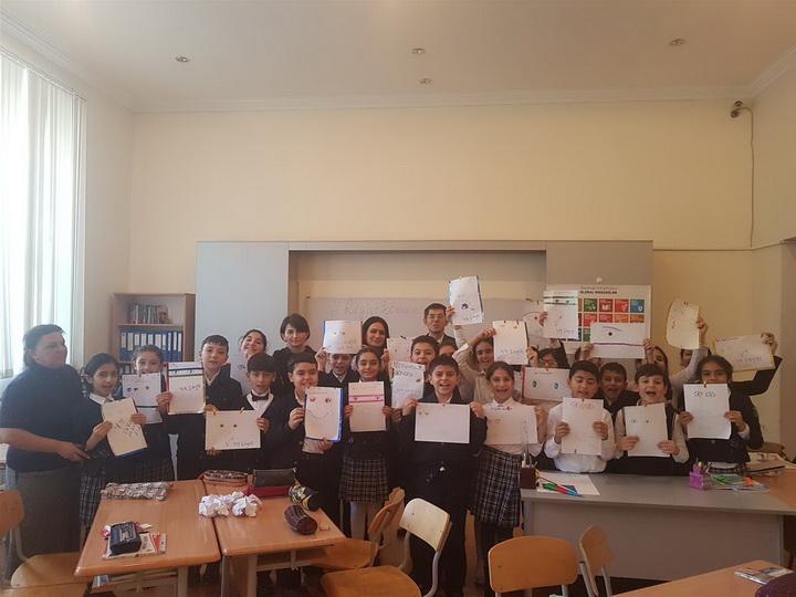В ассоциативных школах проекта ЮНЕСКО стартовала кампания по образовательному праву - ФОТО