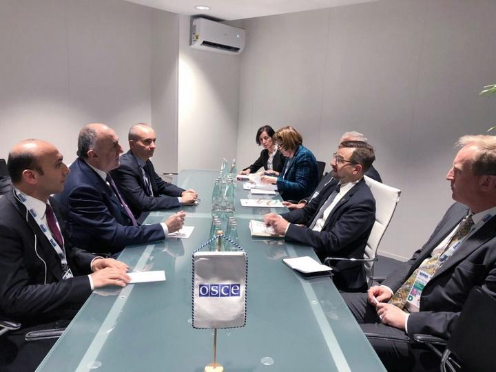 Министр иностранных дел Азербайджана встретился с генеральным секретарем ОБСЕ