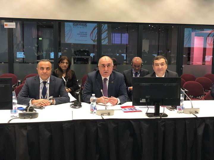 Эльмар Мамедъяров рассказал в ОБСЕ об инновационных транспортных решениях Азербайджана