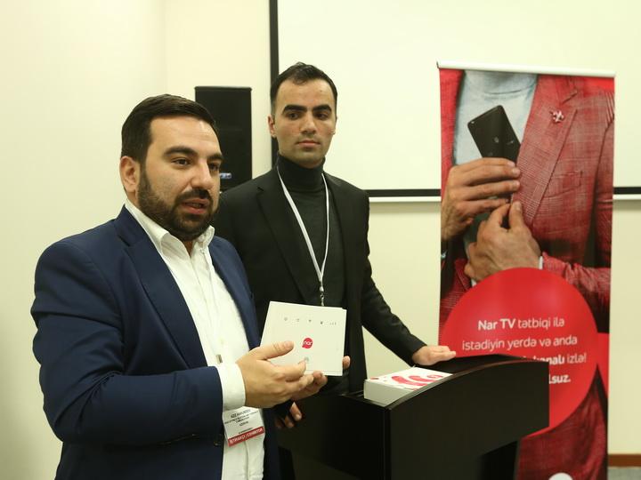 Nar представил представителям СМИ свои новые продукты – ФОТО