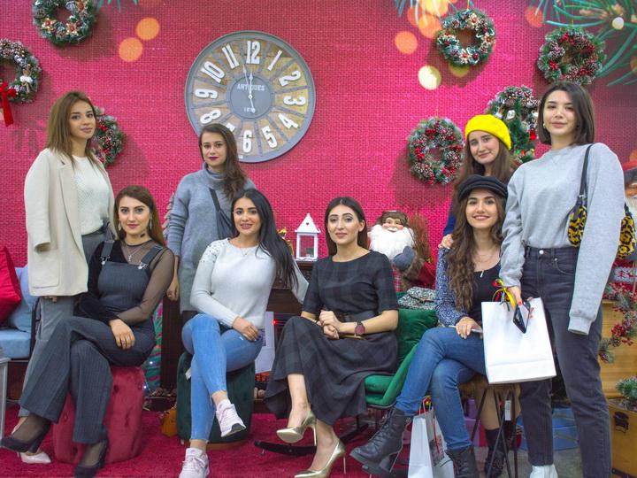 Презентация Новогодней ярмарки в Evimiz – ФОТО – ВИДЕО