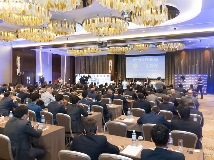 Caspian European Club провел бизнес-форум с Государственным таможенным комитетом Азербайджана – ФОТО