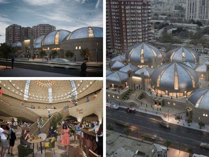 Каким будет после реконструкции Şərq Bazarı? – ФОТО
