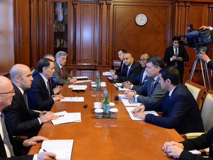 Обсуждены перспективы сотрудничества между правительством Азербайджана и USAID - ФОТО