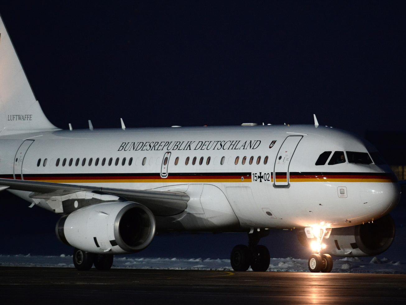 Меркель получит новый самолёт взамен сломанного