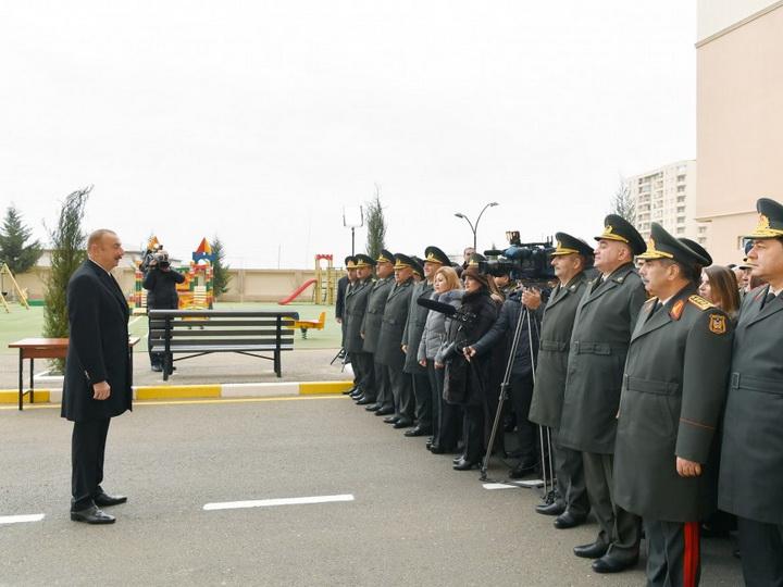Президент Ильхам Алиев: Сегодня наша армия готова выполнить любую задачу - ФОТО