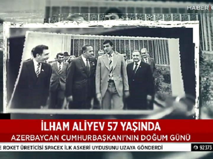 Türkiyə telekanalından İlham Əliyevə ad günü təbriki — VİDEO