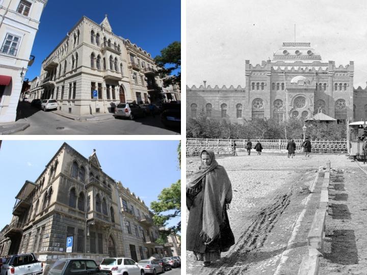Реконструкция архитектурного величия центра Баку: «До» и «После» - ФОТО