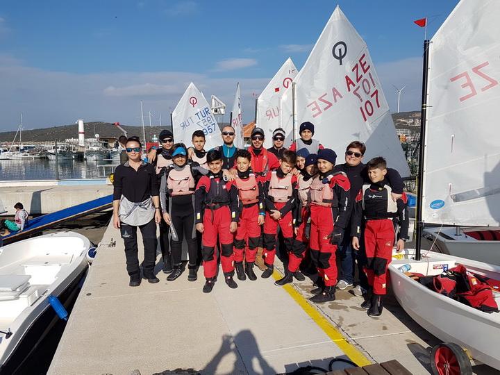 Федерация парусного спорта Азербайджана приняла участие в престижном соревновании – ФОТО