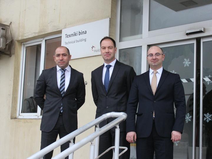 Министр экологии и природных ресурсов посетил Гарадагский цементный завод компании Holcim Азербайджан – ФОТО
