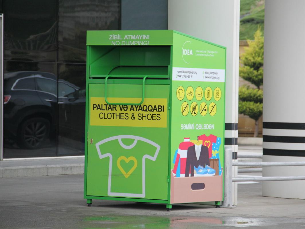В Баку открылись пункты сбора неиспользуемой одежды - ФОТО