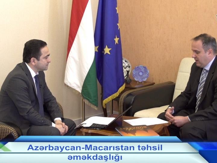 Посол Венгрии в Азербайджане в программе Təməl – ВИДЕО