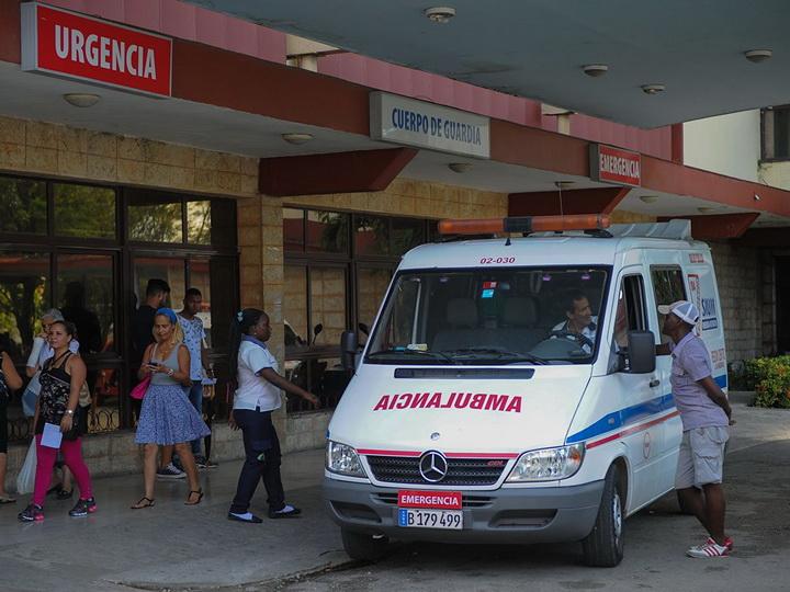 На Кубе автобус с иностранцами попал в ДТП