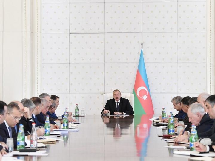 Ильхам Алиев: «Падение стало логическим, горьким концом криминальной хунты, узурпировавшей власть в Армении»