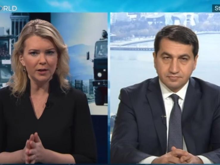 Хикмет Гаджиев: «Армения пытается применять подход «fait accompli» и укреплять оккупацию» - ВИДЕО