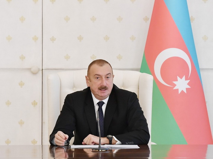Ильхам Алиев: Зарубежные политики, поддерживавшие криминальный режим Армении, должны быть привлечены к ответственности