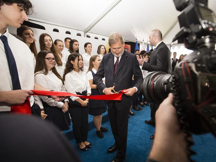 Европейская школа Восточного партнерства предлагает азербайджанским школьникам новые стипендии – ВИДЕО