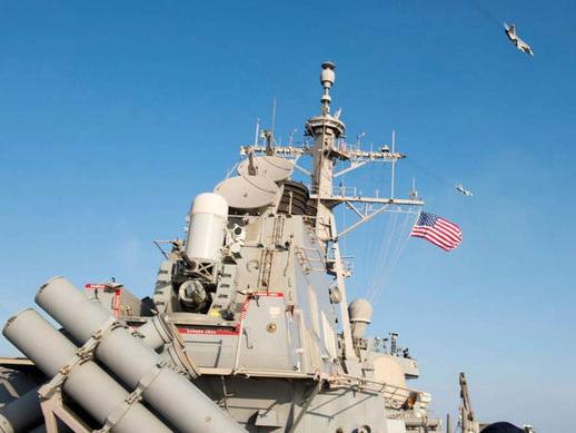 В Грузию прибыл американский эсминец