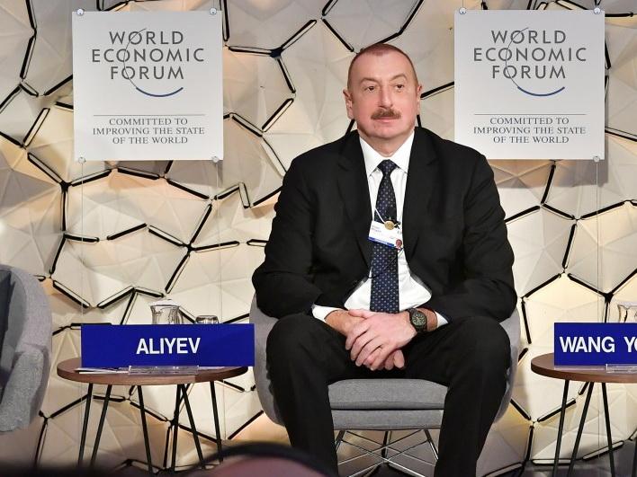 Азербайджан продолжает удивлять Давос: что предлагает мировой экономике Президент Ильхам Алиев?
