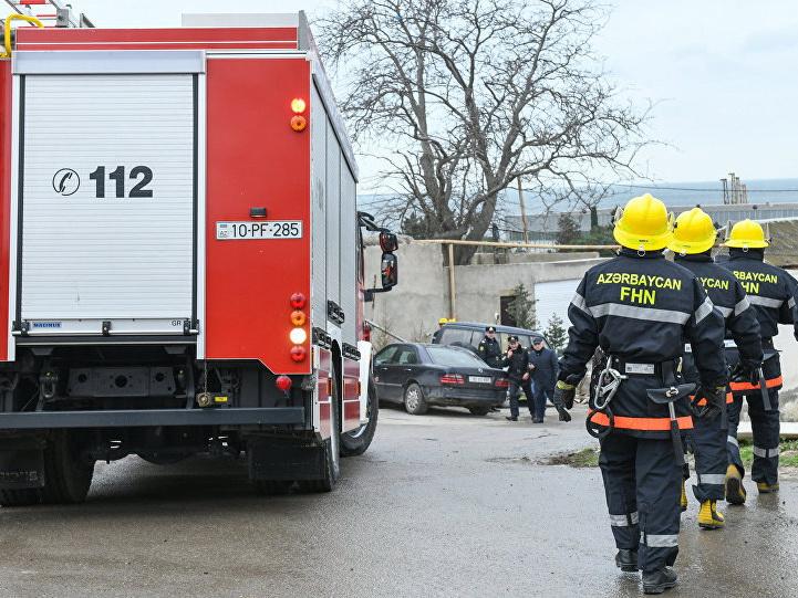 Три пожара за одно утро в Баку: все вовремя потушены