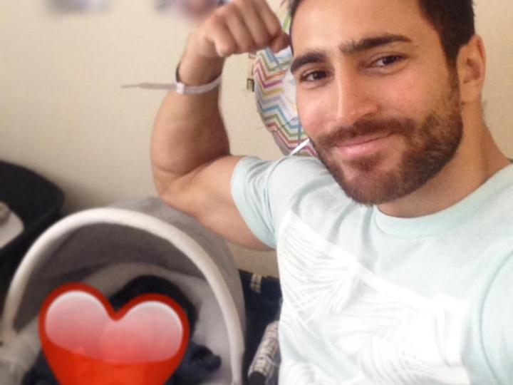 Азербайджанский участник «Евровидения» стал отцом в США – ФОТО