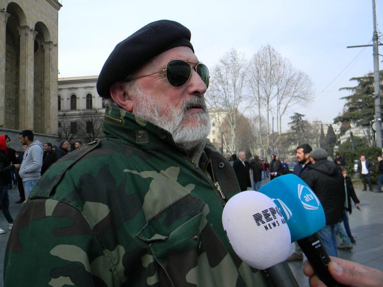 Ветеран абхазской войны: Михаил Авагян был сражавшимся против грузин военным преступником