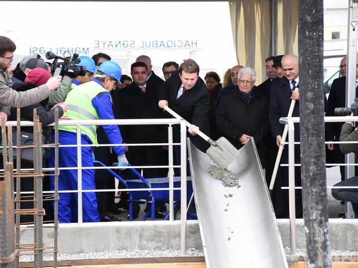 В Азербайджане приступили к строительству автозавода «ГАЗ»
