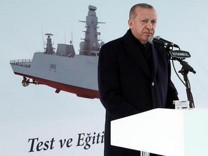 Турция спустила на воду свой первый корвет-разведчик