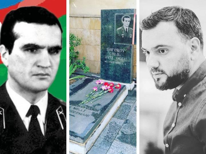 Сын Джалила Сафарова: «Армяне Грузии требуют снести памятник Национальному герою Азербайджана»