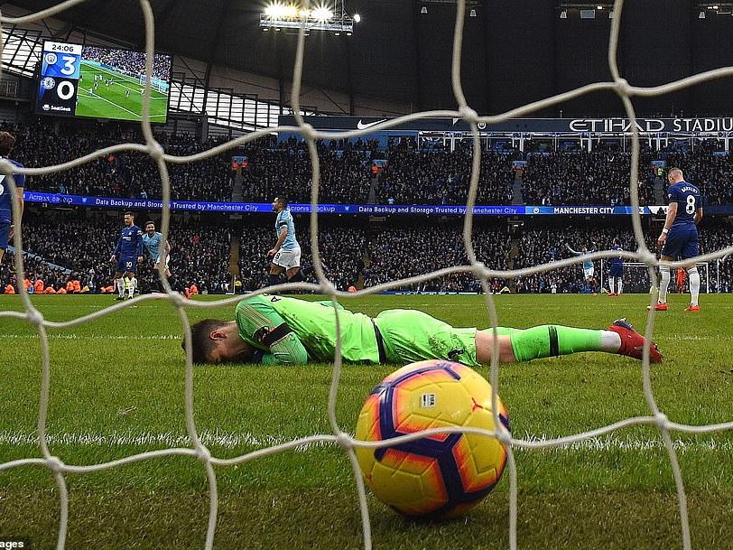 «Манчестер Сити» разгромил «Челси» — 6:0 - ФОТО