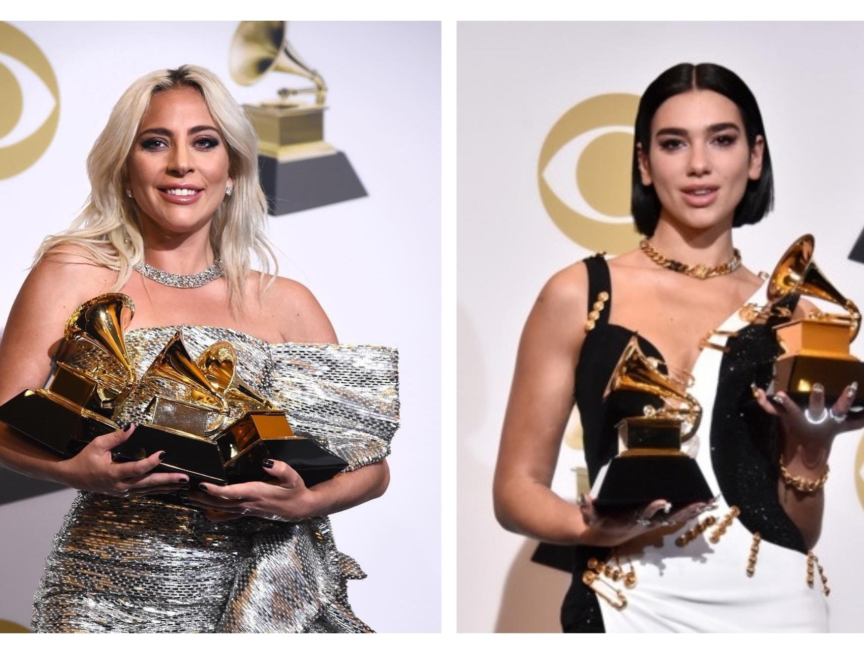 Леди Гага, Дуа Липа и другие лауреаты премии «Грэмми-2019» - ФОТО – ВИДЕО