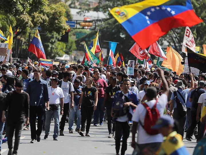 В Каракасе началась масштабная акция оппозиции - ФОТО