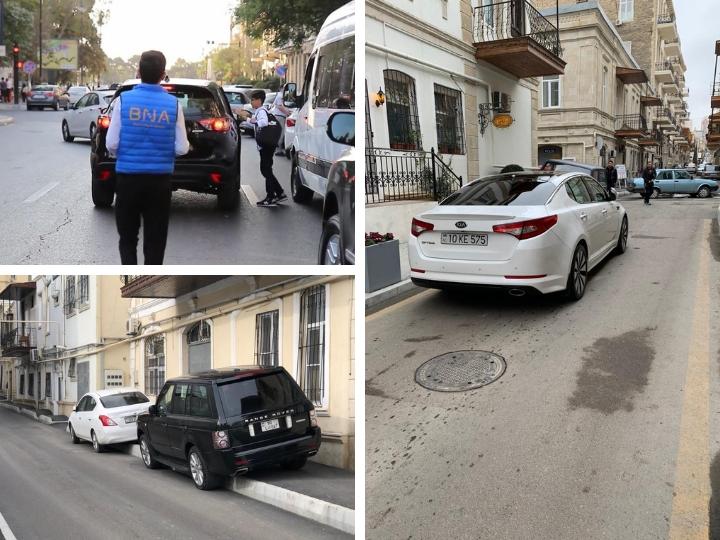 Транспортный беспредел в центре Баку: нужны радикальные меры! - ФОТО