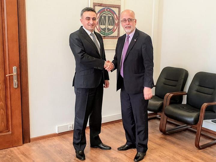 Посол Мексики в Азербайджане посетил Коллегию адвокатов