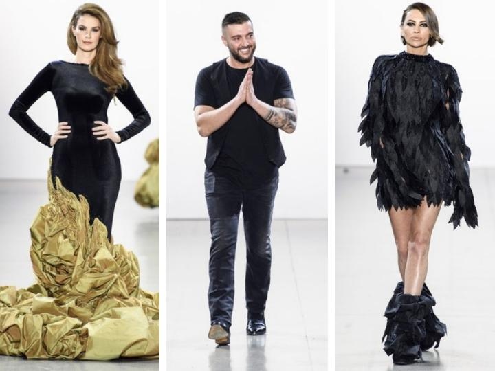 Руфат Исмаил представил коллекцию «Эффект бабочки» на Нью-Йоркской Неделе моды – ФОТО – ВИДЕО