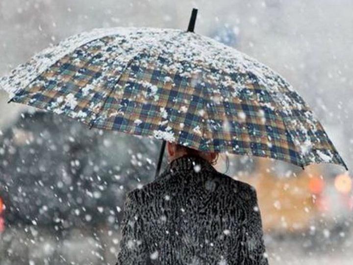 Синоптики предупреждают: В Баку ожидается мокрый снег