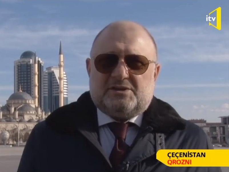 Министр Чеченской Республики: Салам алейкум наш братский Азербайджан!- ВИДЕО