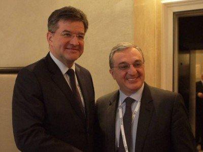 Глава МИД Армении обсудил с председателем ОБСЕ карабахское урегулирование
