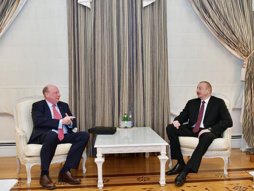 Ильхам Алиев принял руководителя Генерального директората Европейской комиссии по транспорту и мобильности