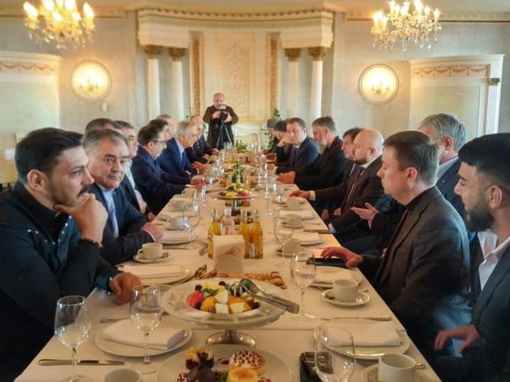В Москве проходит дружеская встреча аксакалов Азербайджана и Чечни – ФОТО – ВИДЕО