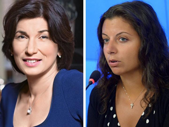 Маргарита Симоньян: «Ирада – моя подруга. Когда я переехала в Москву и мне было негде жить, меня приютила она»