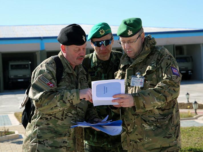 В воинских частях в Нахчыване проведена инспекция по контролю над вооружениями – ФОТО
