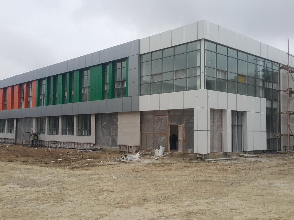 Практически завершено строительство Учебного центра профессиональной подготовки – ФОТО