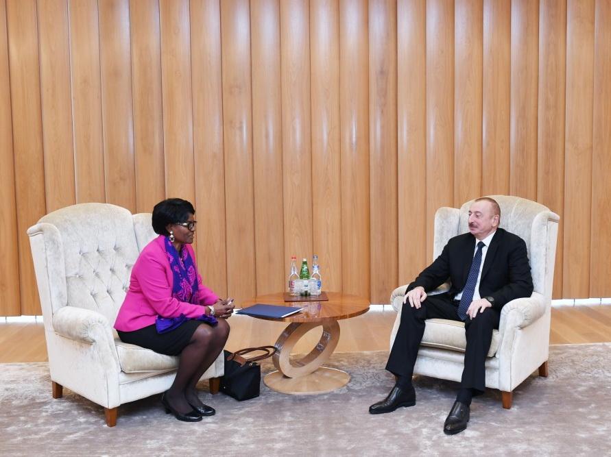 Президент Азербайджана встретился с региональным директором ВБ - ФОТО