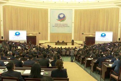 Азербайджанские эксперты выступили на международной конференции в Ташкенте - ФОТО