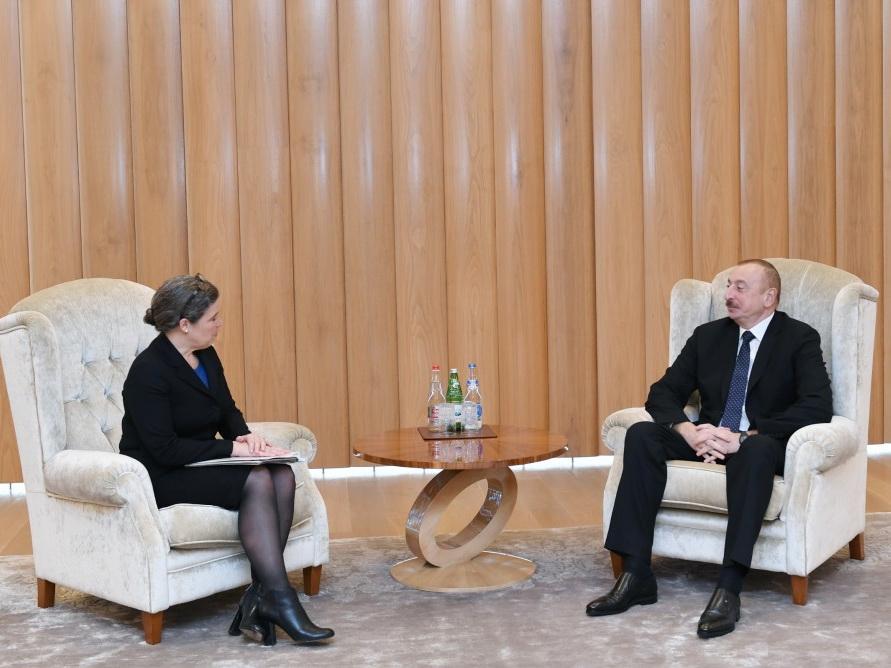 Президент Азербайджана встретился с заместителем помощника госсекретаря США по энергетической дипломатии - ФОТО