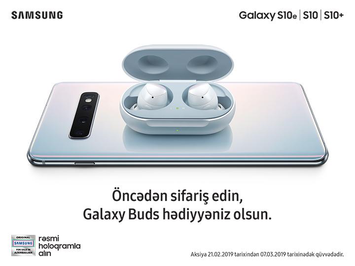 Samsung yeni Galaxy S10 xəttini təqdim etdi