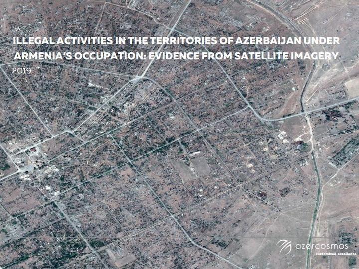 Снимки из космоса доказали незаконную деятельность Армении в Карабахе – ФОТО
